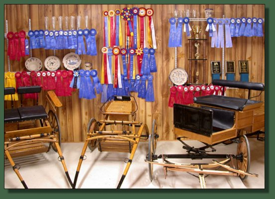 Cedar Creek Farm's Trophy Room